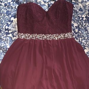 Speechless Homecoming dress